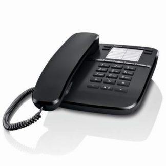 Téléphone fixe GIGASET DA410, poste analogique avec son haute définition